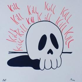 kill kill kill - couche paper 300 gr.
