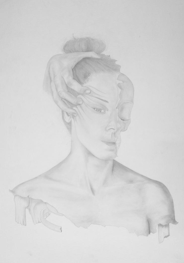 Sin título - pencil on paper - 50 x 70 cm