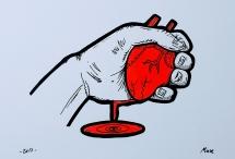 presión sanguinea - couche paper 300 gr.