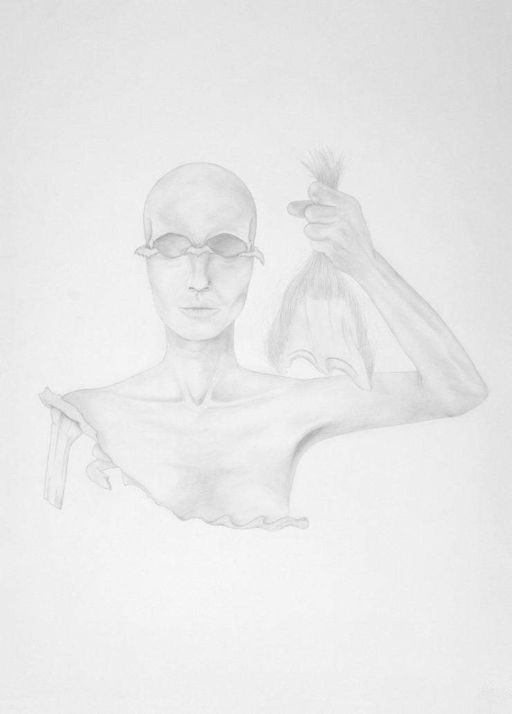 Révolution - pencil on paper - 50 x 70 cm