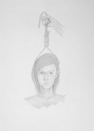 Suicidi mental - pencil on paper - 50 x 70 cm