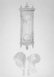 Time Kills - pencil on paper - 70 x 100 cm